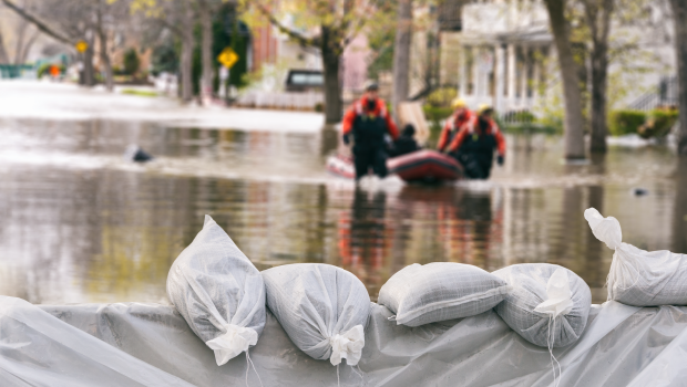 IoT supports to grasp flood information in urban areas in real time